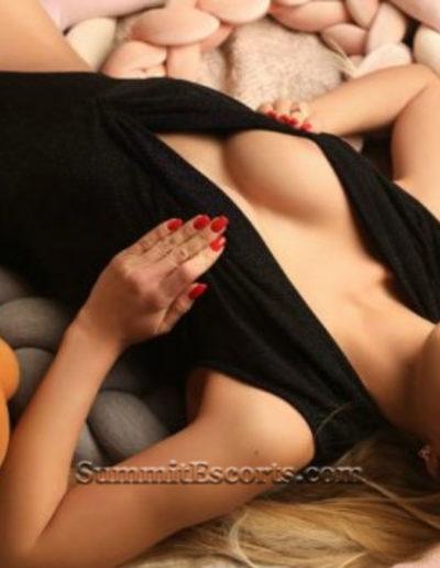 Lauren is a busty yet slim strawberry blonde escort in Las Vegas